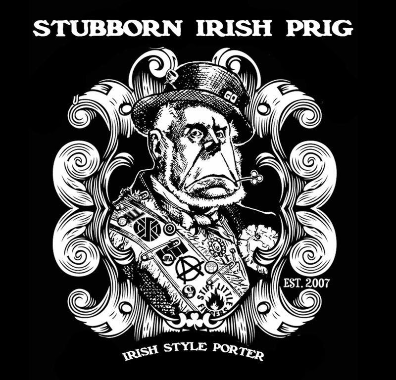 Stubborn Irish Prig - Wall Poster