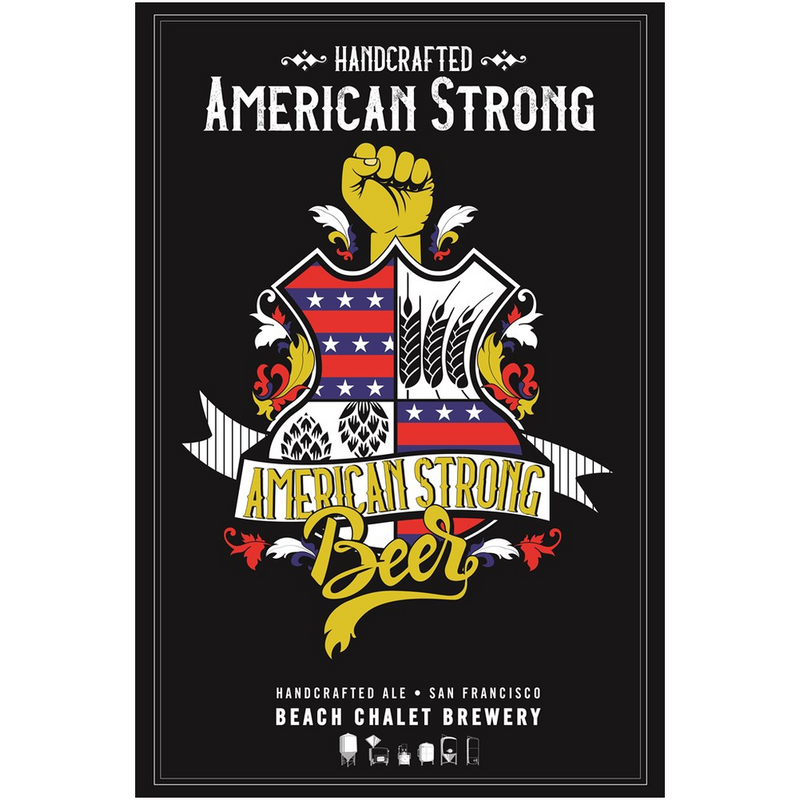 American Strong - Canvas Posters