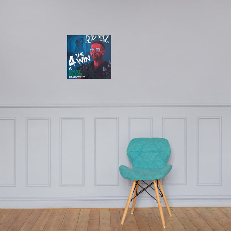 4 The Win - Wall Poster