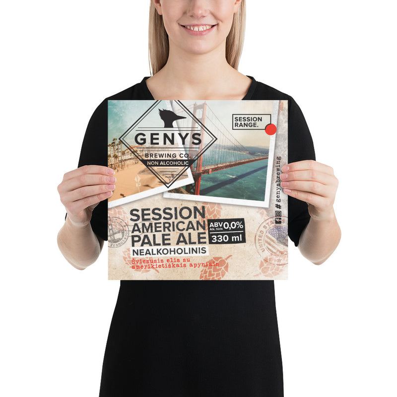Session American Pale Ale - Wall Poster