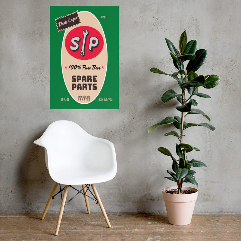 Spare Parts - Wall Poster