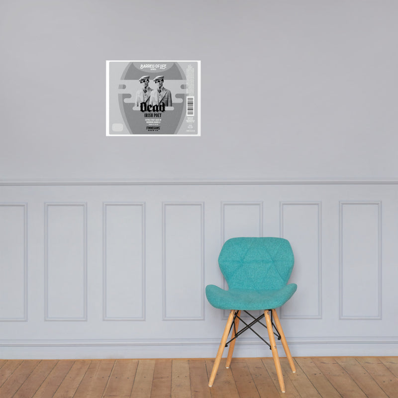 Dead Irish Poet - Wall Poster