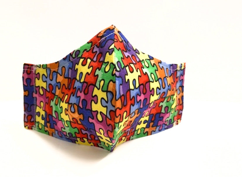 Puzzles - Multicolor Mask