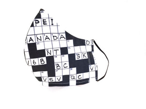 Crossword Puzzles - Black/White design -  SOLD OUT