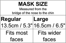 Load image into Gallery viewer, Japanese Dolls on Pink Mask - only 1 left