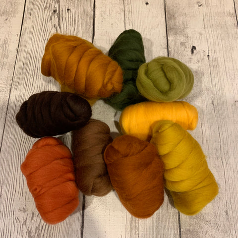 Merino Fall Color Pack - Autumn Leaves - 8.8 oz