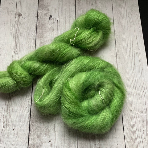 Lace - Doctor Who goes to Westeros™ GREAT GRASS SEA™ - Mohair/Silk 459 yds RTS (010920)