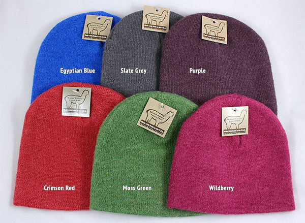 Alpaca Beanie Hat - Choose From 8 Colors