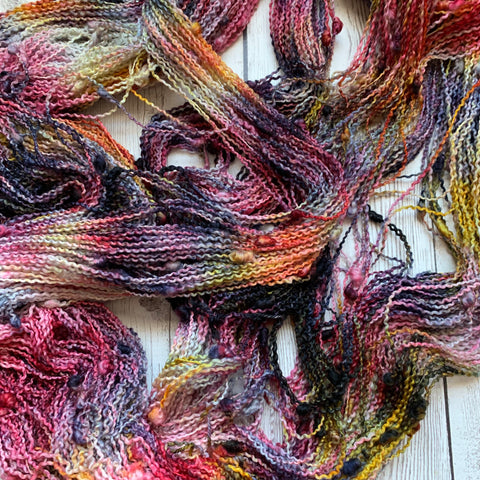 SLUB SOCK WEIGHT - HARVEST RAINBOW™ Kettle Dyed - 437 yds RTS (101119)