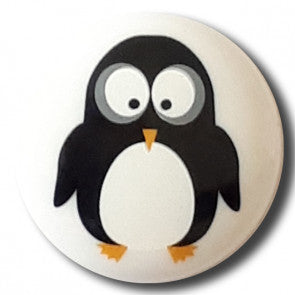 Penguin Themed button - 15 mm