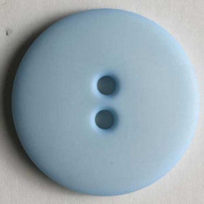 Light Blue Button - 18mm
