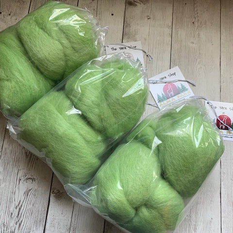 "100% Alpaca batts - 4 oz - ""GREAT GRASS SEA"""