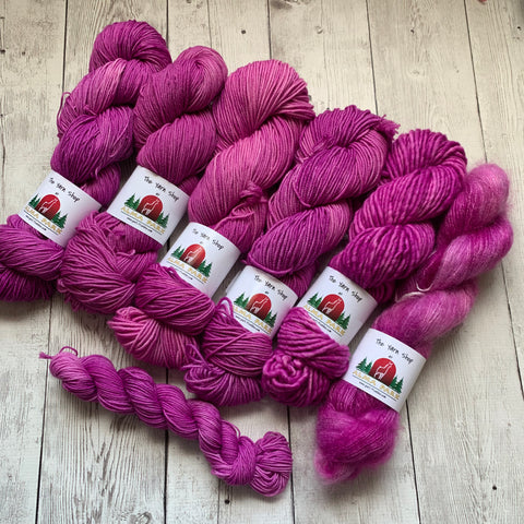 MISS FIGGY™ -  Semi-Solid - Multiple Yarn Weights  -  RTS