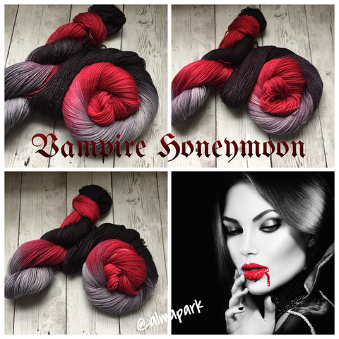 Vampire Honeymoon™ Premium Fing/Sock Hand Paint - 463 yds RTS (924)