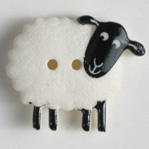 Sheep Themed button - 23 mm