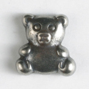 Teddy Bear Themed button - Metal - 18 mm