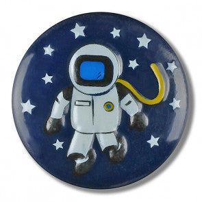 Space Themed button - 15mm
