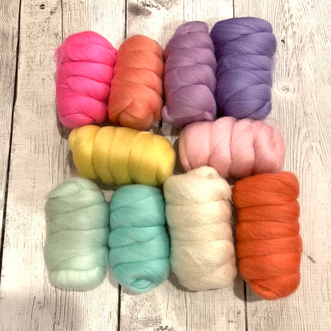 Merino Pastel Color Pack - Unicorn Wind - 8.8 oz