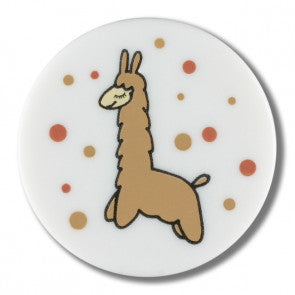 Alpaca Themed button - 15mm