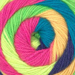 HOT CAKES - (worsted) - 008 - Neon Mix