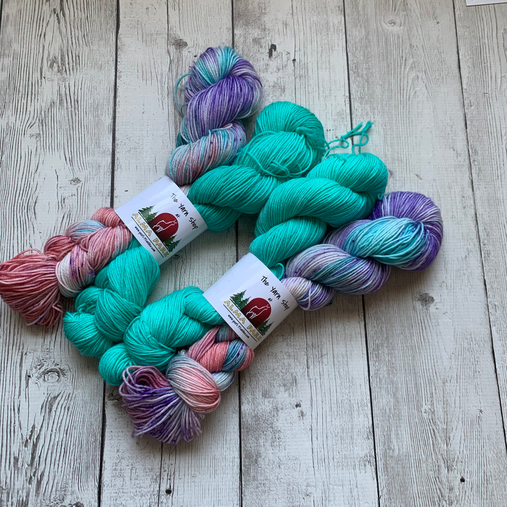 SOCK YARN DUOS™ KIT - Hand Paints - 462 yds RTS