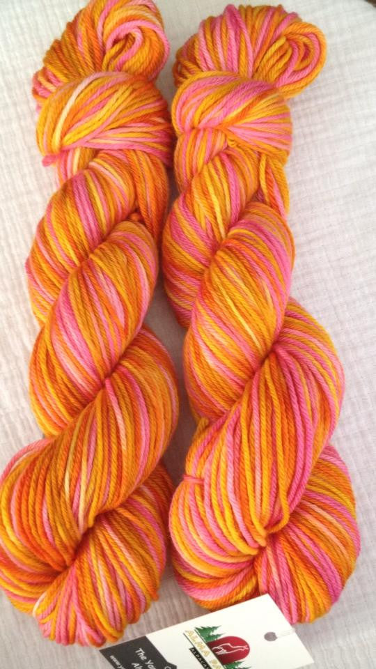 Elephant Hawk Moth™-  Worsted Hand Painted 218 yds  RTS