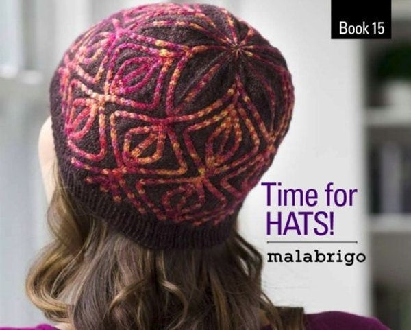 MALABRIGO Pattern Book - TIME FOR HATS  Book 15