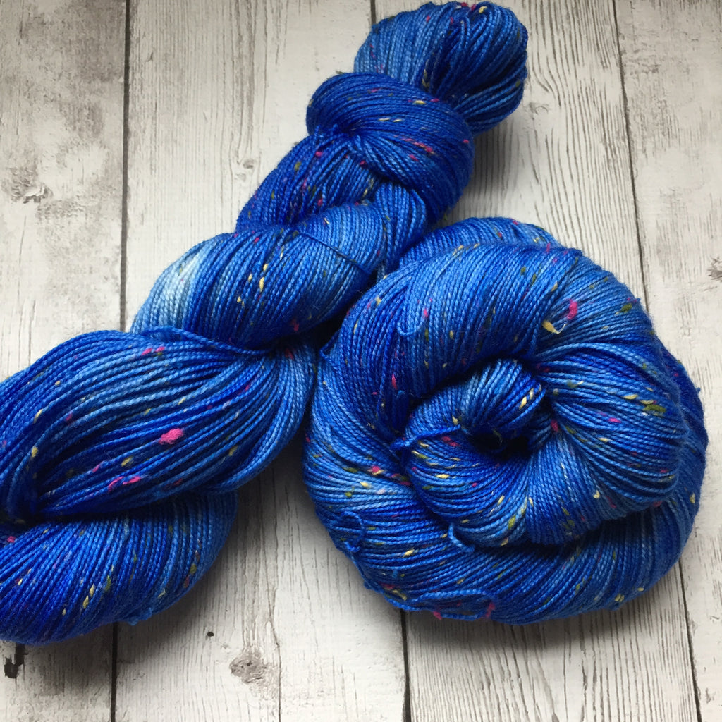 BLUE Tonal -   semi-solid kettle dyed  - Fing/Sock Donegal  438  yds RTS (903)