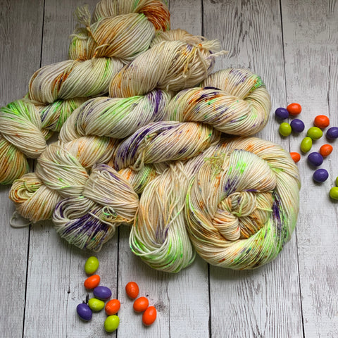 DK - GHOUL'S Mix™ -  Speckle Dyed DK - 274 yds 3.5 oz RTS (101019)