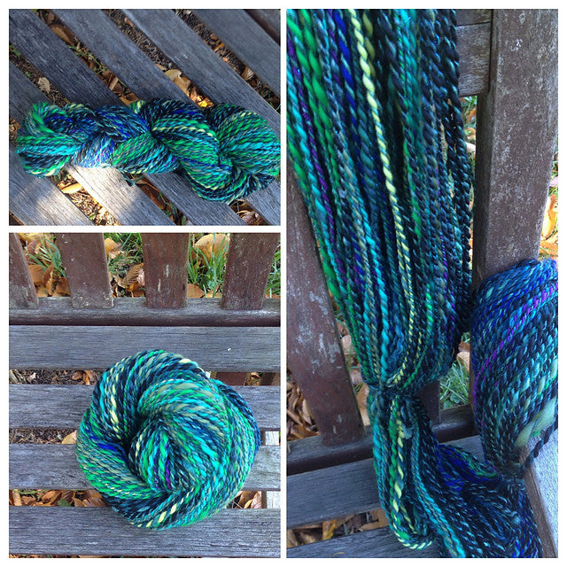 Spinning Services (From ALMA PARK Fiber) - 1 oz - 2 ply Even, Well-Balanced