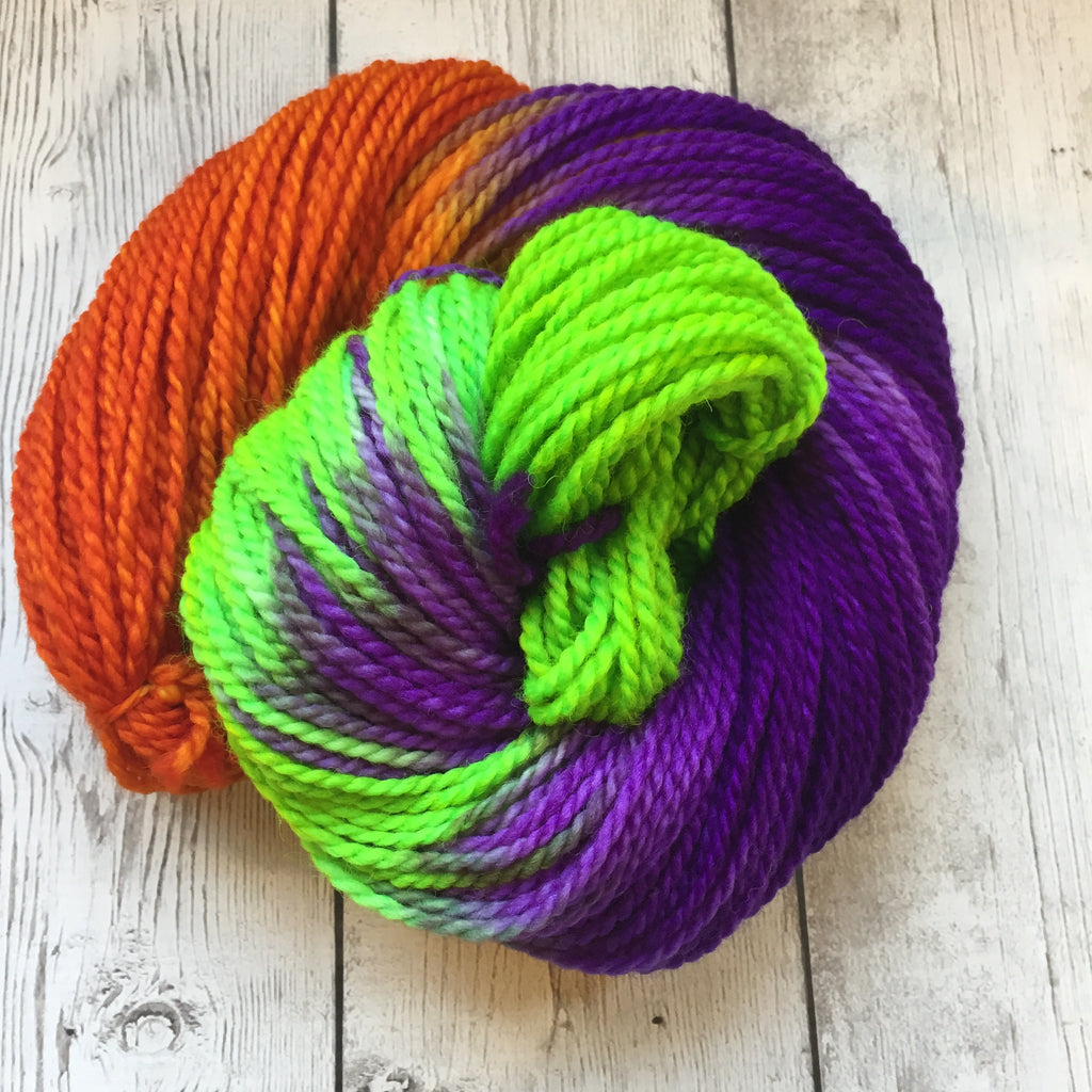 Monster Bash™-  ARAN/Heavy Worsted Hand Painted 181 yds RTS