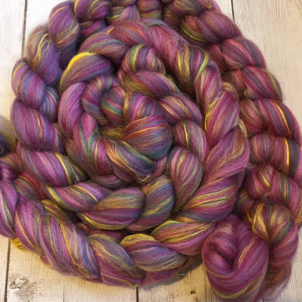 Multi Colored Merino / Bamboo - Northern Lights  2 or 4 oz
