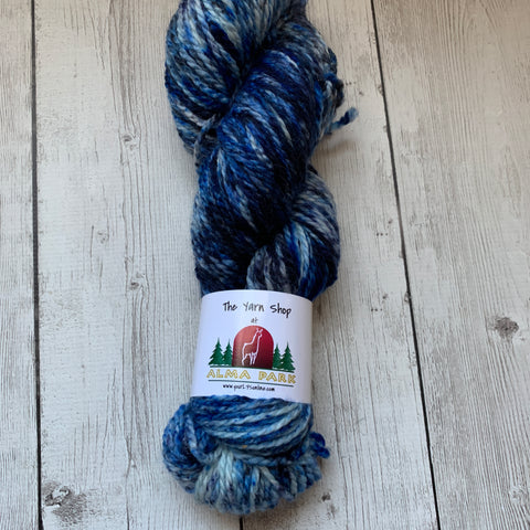 MIDNIGHT ON THE BERING SEA™-  ARAN/Heavy Worsted Speckled 181 yds RTS (319)