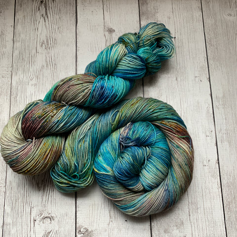 Wetlands™ Speckled Fing/Sock Hand Paint - 463 yds RTS (322)