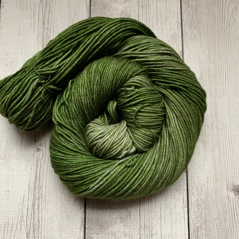 DK - Doctor Who goes to Westeros™ ( CHILDREN of the FOREST) Semi-Solid Kettle Dyed DK - 274 yds 3.5 oz RTS (328)