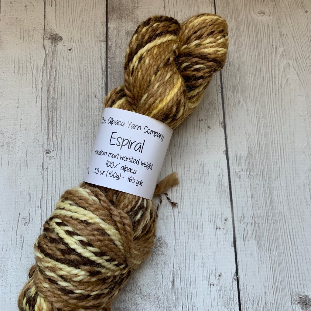Alpaca Yarn Company Espiral Butterscotch