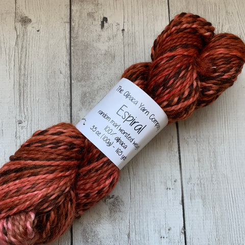 Alpaca Yarn Company Espiral Birch Beer