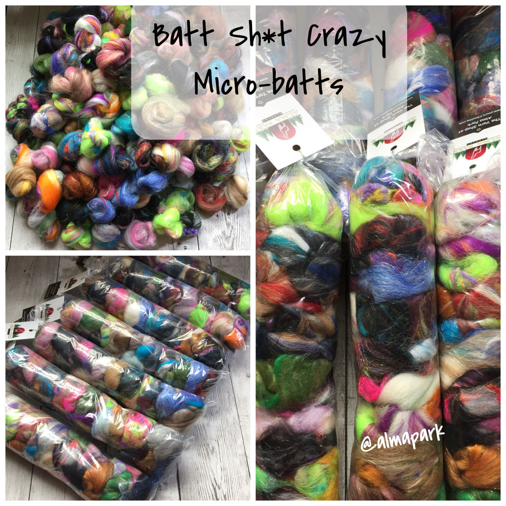 Batt Sh*t Crazy - Micro Batts - 1.5 oz - Spin Spontaneously