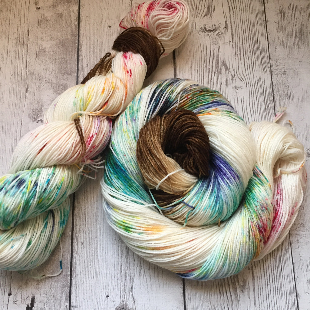 SOCK WEIGHT -Happy Birthday™ Speckled Hand Paint - 463 yds RTS (808)