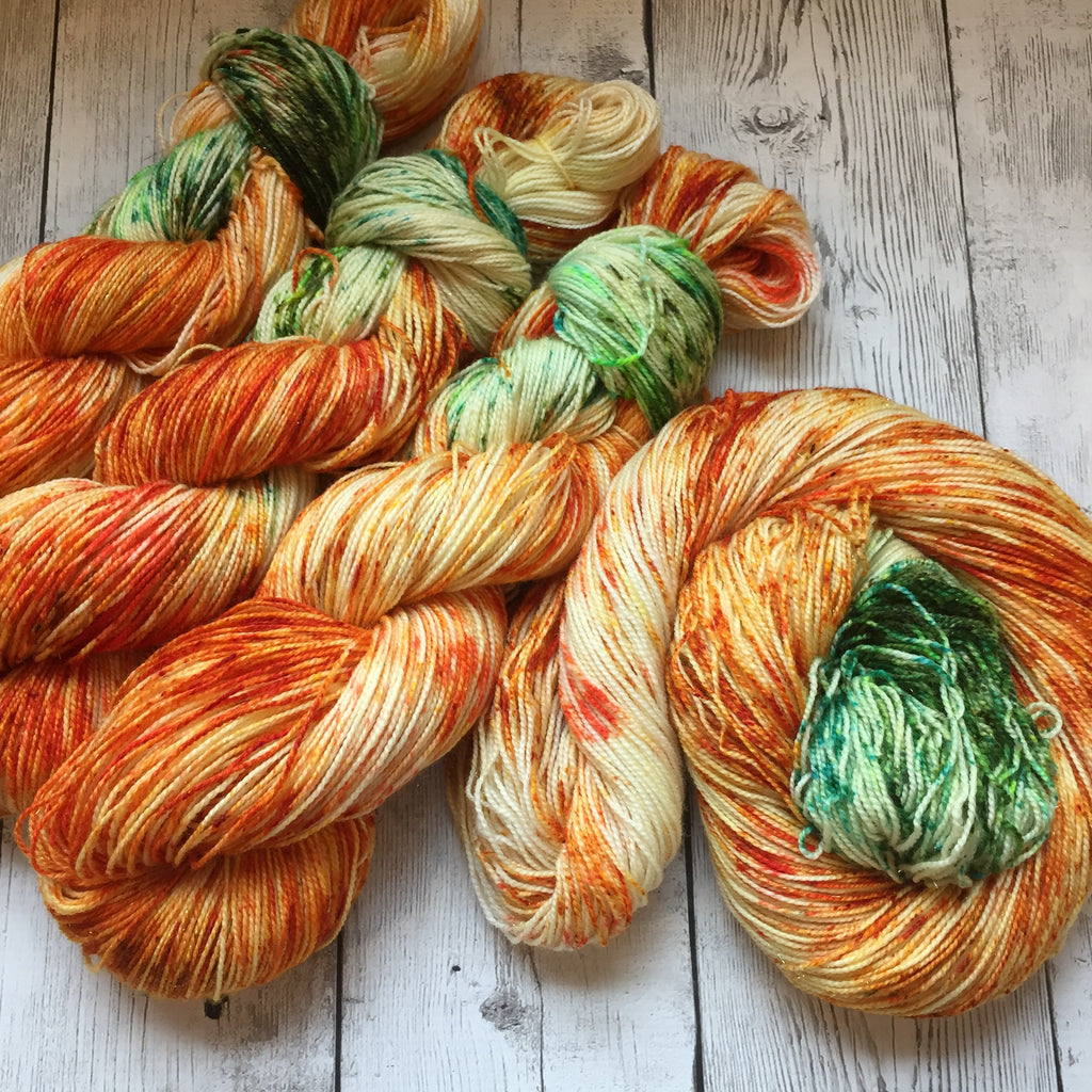 Pumpkin Patch™ Pixie-Stix™ Sparkle Sock- Fing/Sock Speckled 438 yds RTS (903)