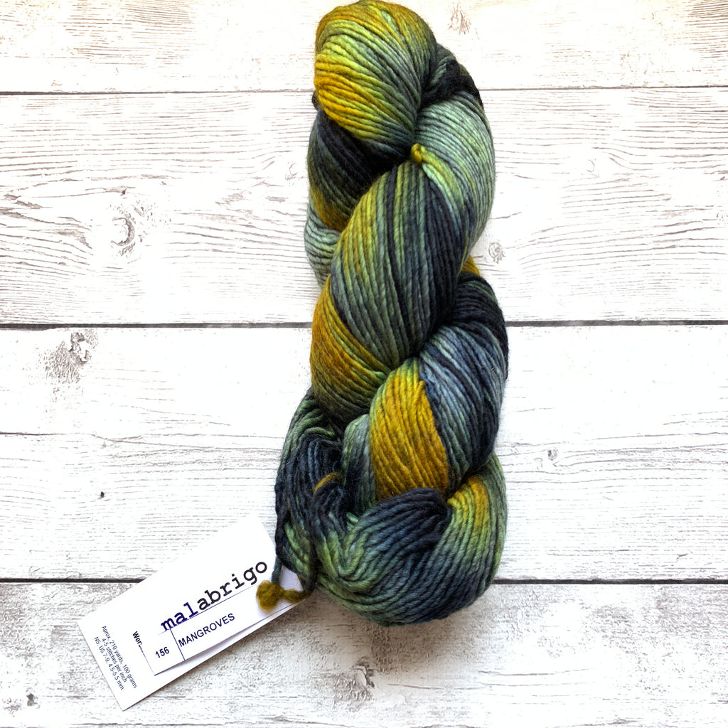 Malabrigo Worsted Mangroves