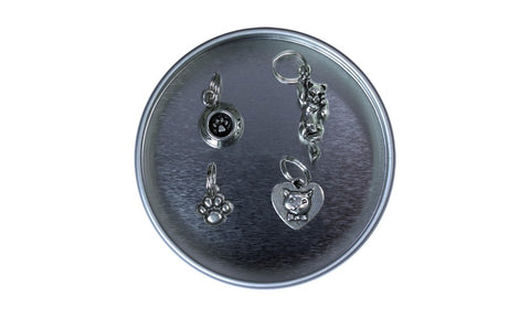 Pewter Stitch Markers - Cat Collection