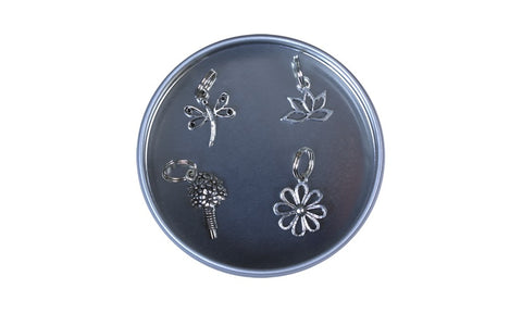 Pewter Stitch Markers - Garden Collection