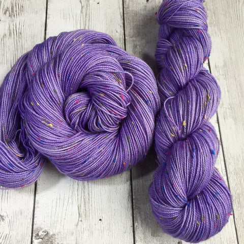 Confetti™ LILAC -  semi-solid kettle dyed - (C17) Fing/Sock Donegal  438  yds RTS