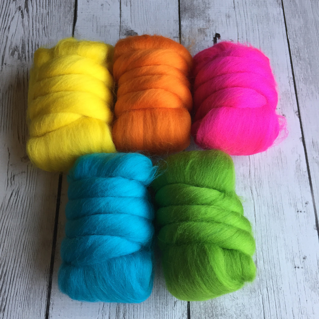Merino Mixed Color Pack - Bright Rainbow - 8.8 oz