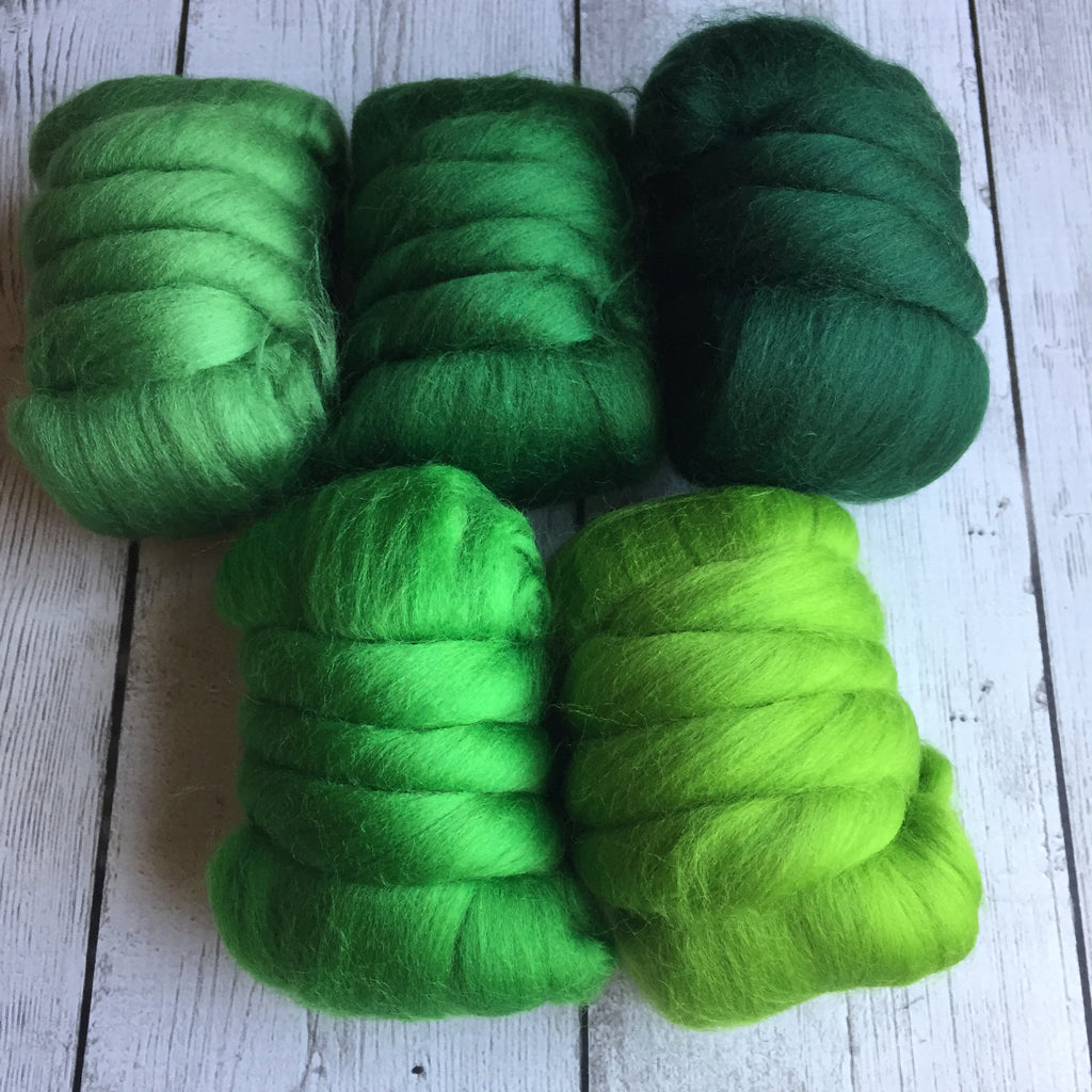 Merino Gradient Color Pack - Greens - 8.8 oz