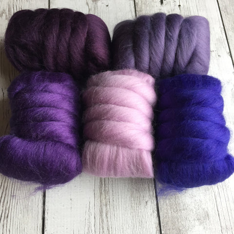 Merino Gradient Color Pack - Purples - 8.8 oz