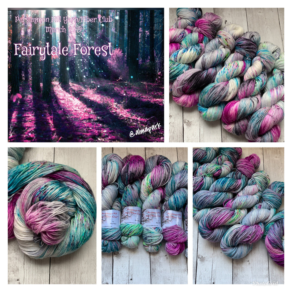 FAIRYTALE FOREST™ Persimmon Hill Yarn Speckled Fing/Sock Hand Paint - 490 yds RTS