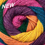 HOT CAKES - (worsted) - 009 - Jewel Mix (NEW)