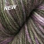 Galway Collage (Worsted) - Purple Green 313